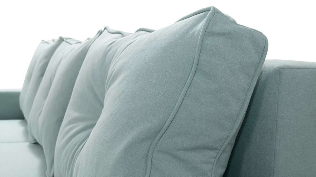Rohová sedačka BAGI detail