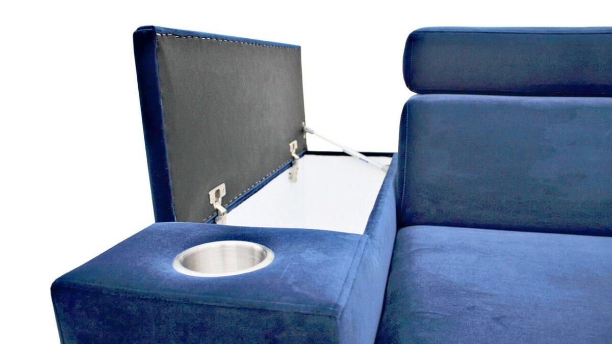 Rohová sedačka SOLVADO VII detail