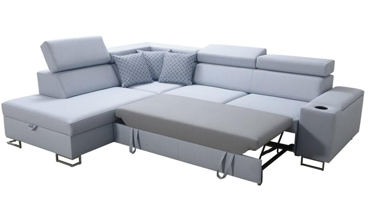 Rohová sedačka SOLVADO VII rozloženie