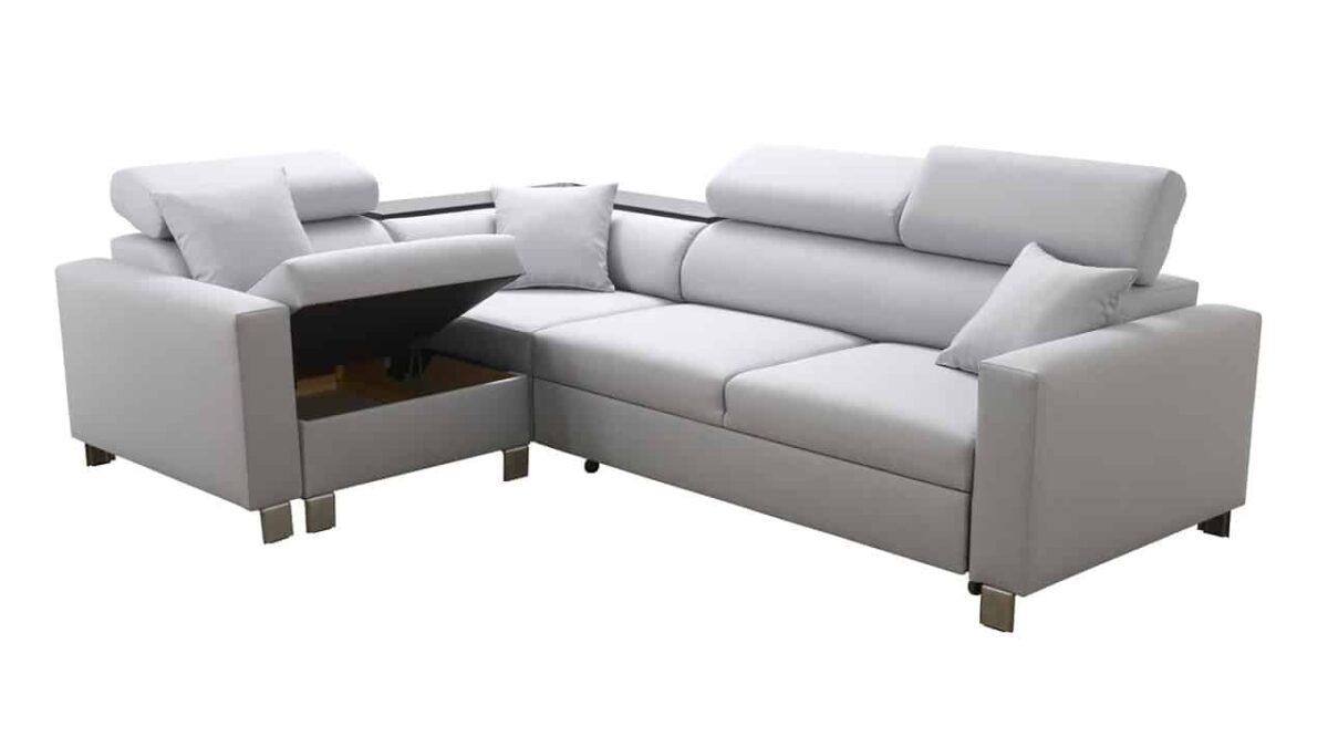 Rohová sedačka LORETI II úložný priestor