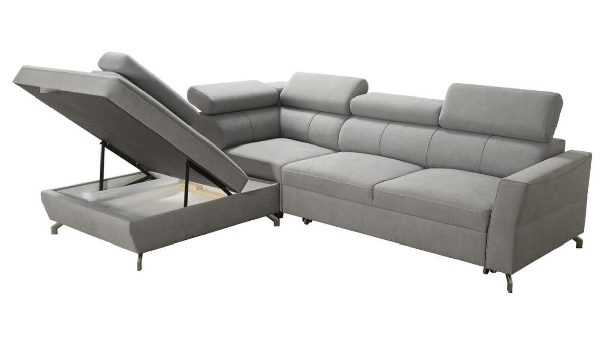 Rohová sedačka VENTO III úložný priestor