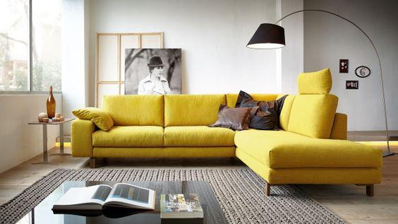 žltá sedačka