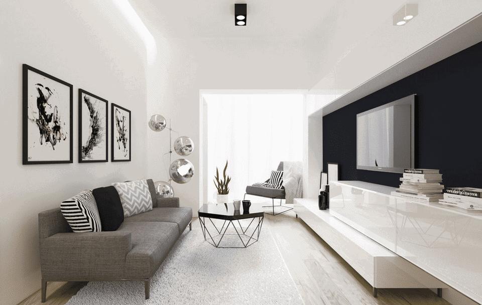 inšpirácia do obývačky