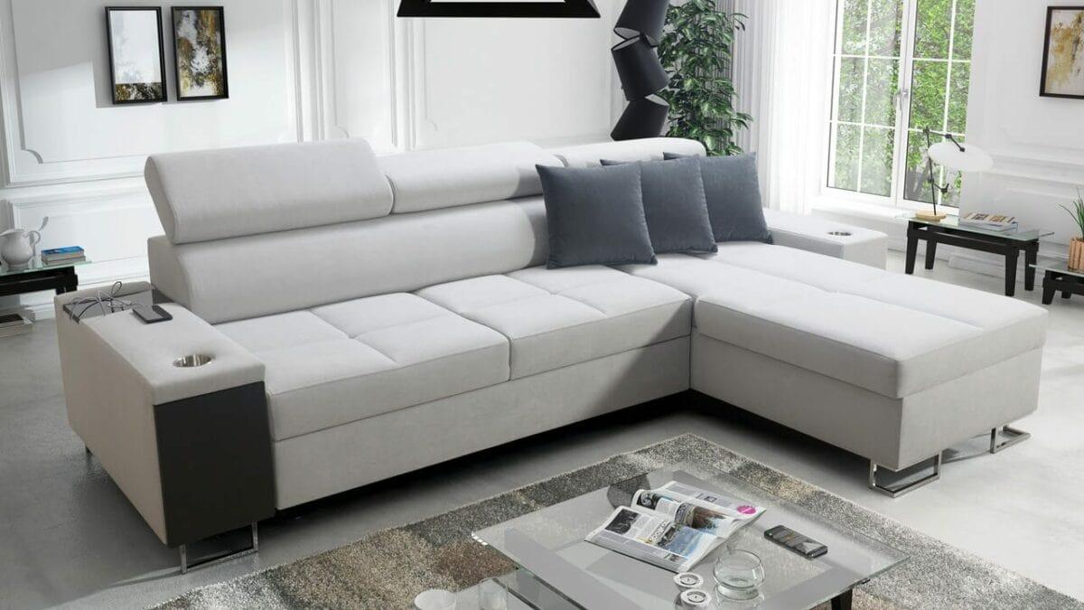 Moderná rohová sedačka MURENA I MINI