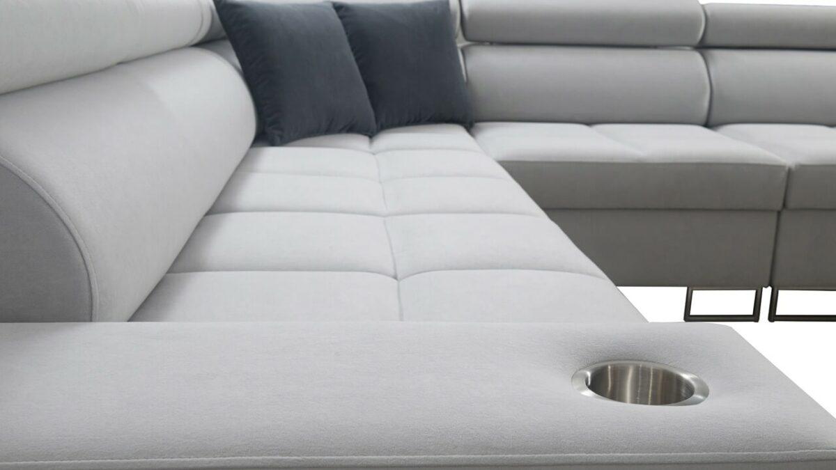 Rohová sedačka MURENA III Detail