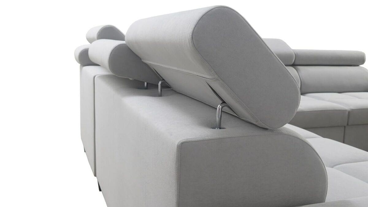 Rohová sedačka MURENA III Opierka hlavy
