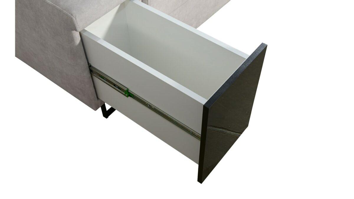 Rohová sedačka Alicanto II minibar