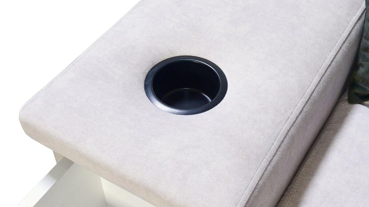 Rohová sedačka Alicanto I mini držiak na poháre