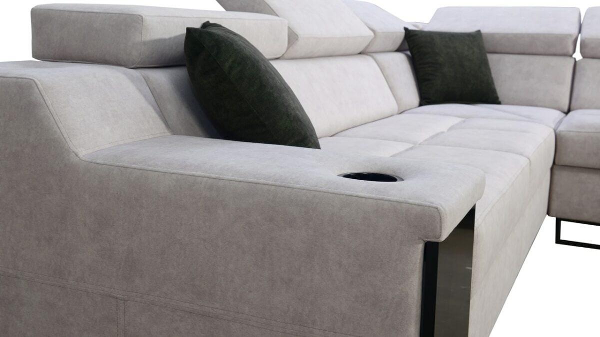 Rohová sedačka Alicanto III detail