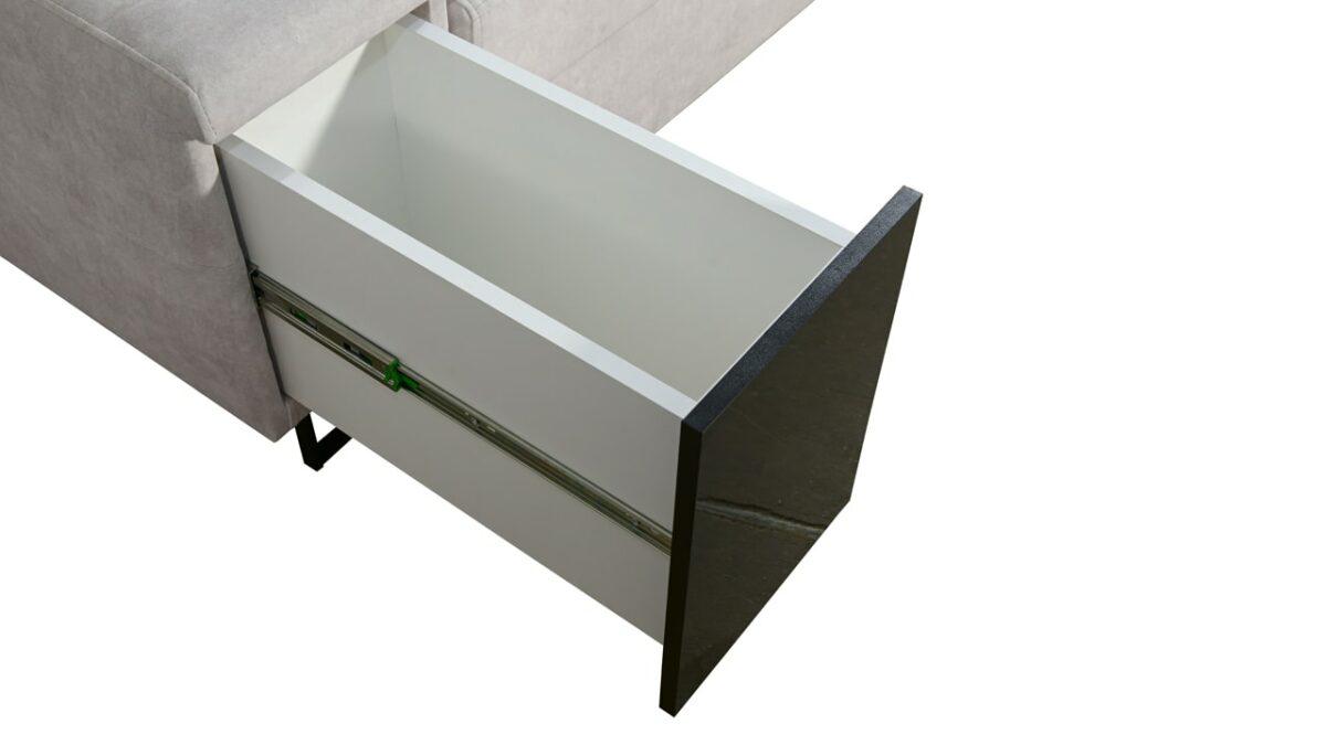 Rohová sedačka Alicanto III minibar