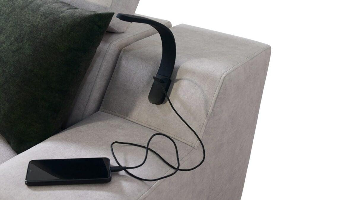 Rohová sedačka Alicanto VII Lampa