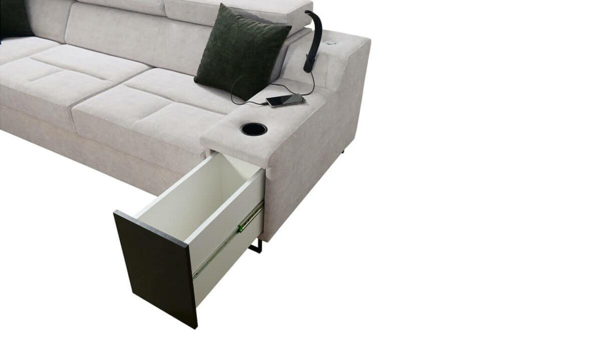 Rohová sedačka Alicanto IX Detail2