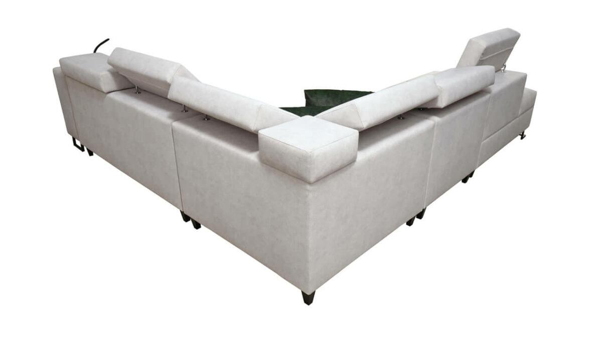 Rohová sedačka Alicanto IX Pohľad zozadu